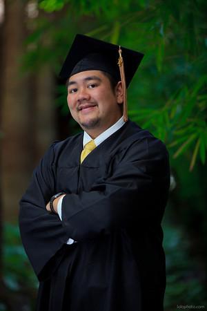 Calvin's Graduation Portraits