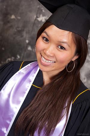 Debbie's Graduation Portraits