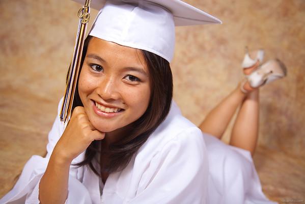 Felicia's Graduation Portraits