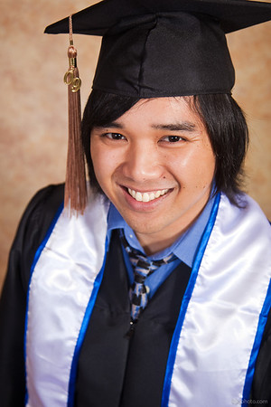 Geoff's Graduation Portraits
