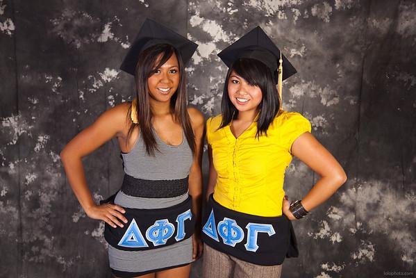 Krystle & Janelle's Graduation Portraits
