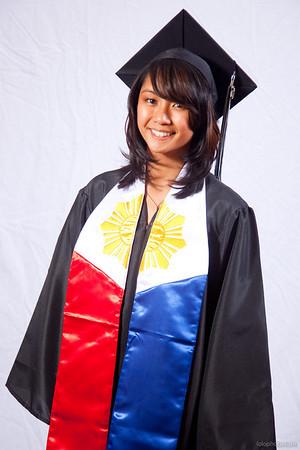 Rio & Camille's Graduation Portraits