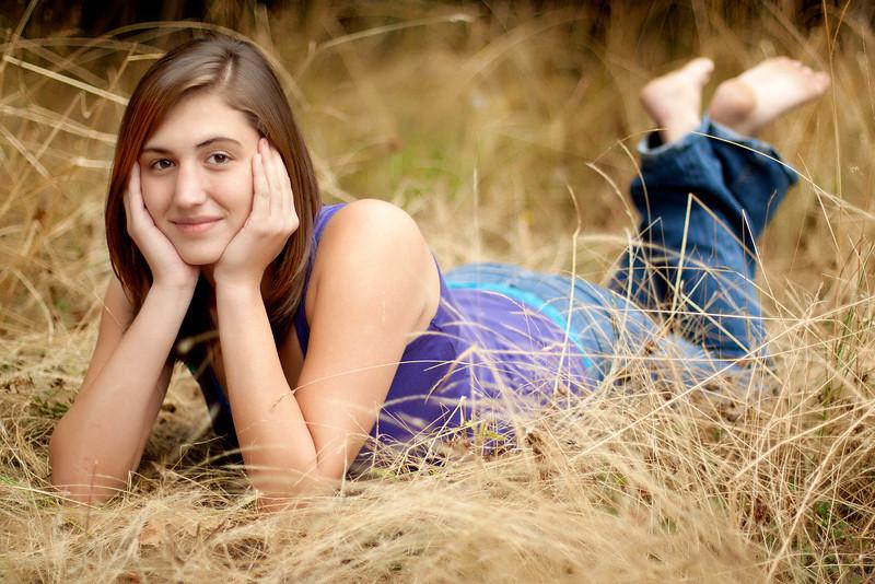 Nikki Senior Portriats Oct 2011