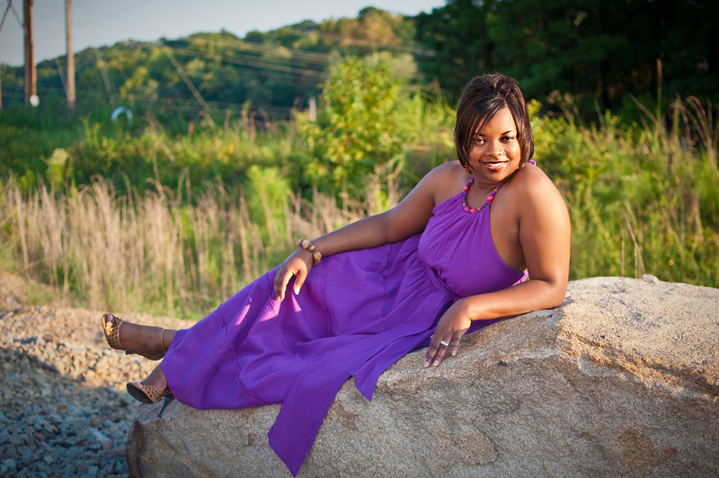 Another fave... I loved her shoes!!!  (poor Jovonne was a real trooper walking through all those rocks in the heels!  :)