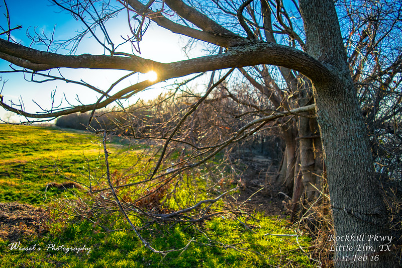 Rockhill Pkwy Sunset - 11Feb16