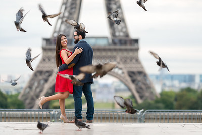 Sesión Luna de Miel Marín Lobo: Paris - Francia  Todos los Derechos Reservados Photography By Mauricio A. Ureña G. 2017