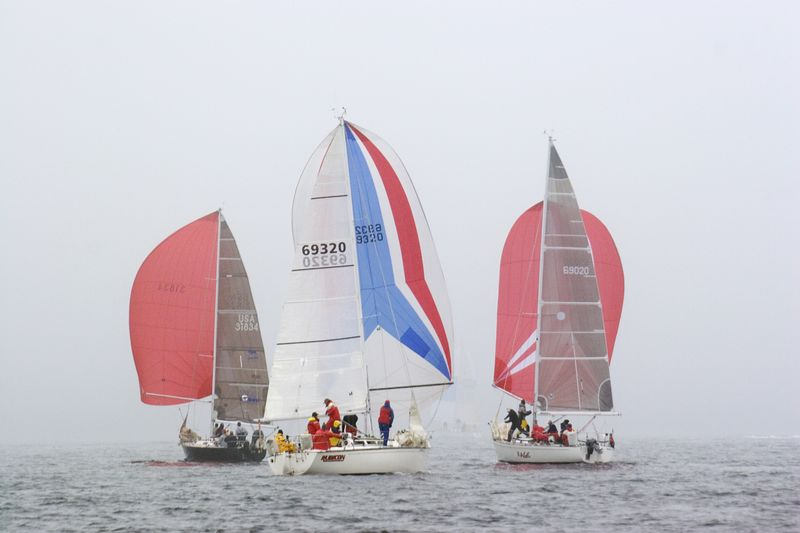 Rubicon Between Red Spinnakers