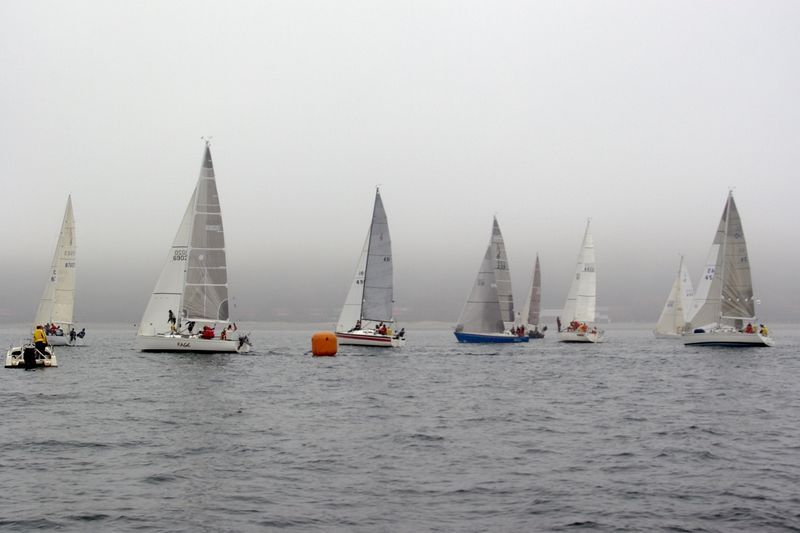 Fog at the Start