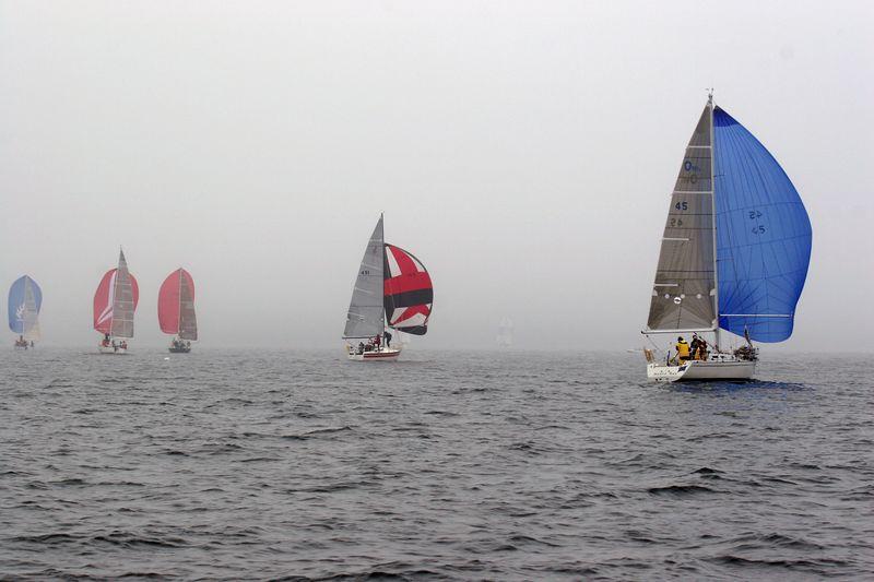 Foggy Sailing Day