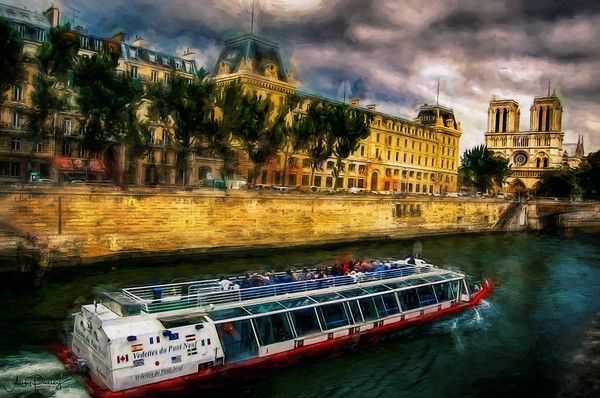 Paris from the River
