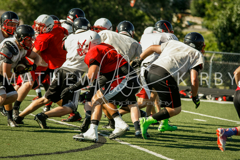 July THUD Scrimmage 2014-13