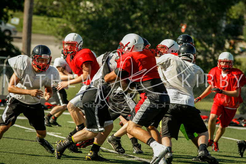 July THUD Scrimmage 2014-16
