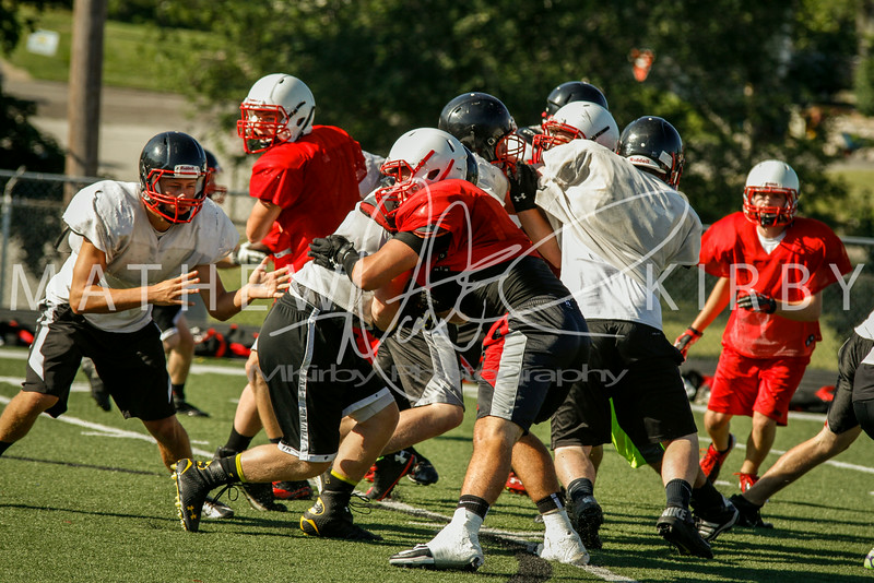 July THUD Scrimmage 2014-15