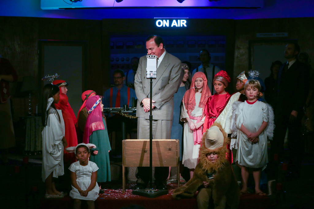 "The Connection Church's play ""Christmas on the Air"""