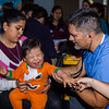 John Chaides<br /> John Rodarte, M.D., from Pasadena, checks a baby at the the Colonia Grupo Clinic by Healing Hearts Across Borders in Tijuana, Mexico on Friday, May 31, 2019. The Healing Hearts Across Borders Clinics see all types of patients.