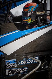 'The Law Firm' Parker Price-Miller puts heat in the Destiny Motorsports #4.