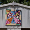 Photo courtesy of Evelyn and Carl Johnson<br /> Brendan Keenan and Teri Gray created this Swaney Road quilt square — smaller and not mounted on a barn — to replicate a family quilt.