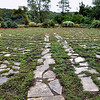 Record-Eagle/Vanessa McCray<br /> <br /> A labyrinth is built on the grounds of the Ellsworth Community Park, which was once an industrial park. Edging the labyrinth are aromatic plants and flowers.