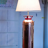 Record-Eagle/Jan-Michael Stump<br /> A fire extinguisher lamp sits in the remodeled lounge.