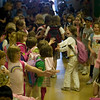 Record-Eagle/Jan-Michael Stump<br /> Students at Eastern Elementary walk through the hallways lined with other students, staff and parents on the last day of class, a school tradition. Fifth graders start the procession, and are followed by the lower grades.