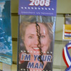 Record-Eagle/Vanessa McCray<br /> Reminders of Hillary Clinton's bid for the White House remain at Annie's of Traverse City, where we found this special edition air freshener (regularly priced $3.50).