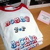 "Record-Eagle/Vanessa McCray<br /> ""Mommy for McCain"" shirts ($38) are sold at Preggers on Union Street in Traverse City. The Obama mommas snapped up their couture counterparts. The McCain baseball-style shirts are trimmed in red and made of 100 percent combed cotton."