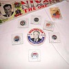 Record-Eagle/Vanessa McCray<br /> Campaign memorabilia like this Nixon pennant ($25) and assorted presidential pins are sold at Wilson Antiques in downtown Traverse City.