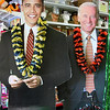 Record-Eagle/Vanessa McCray<br /> Barack Obama and Joe Biden can drop by your house on election night. Or, at least their life-size cardboard cut outs from Party Giant can ($29.99). A store employee reports it had sold out of McCains.