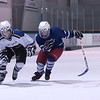 Record-Eagle/Garret Leiva<br /> Pee Wee Division hockey players race toward the finish line in the two-lap sprint at the fourth annual Grand Traverse Hockey Association Skillympics held Saturday at Centre ICE. Two hundred and forty hockey players, ages 9-14, took part in individual and team competitions. Half-ice events included shooting and passing accuracy, partner passing and shooting speed, figure 8's and obstacle course. Full-ice events featured two-lap sprint, team relay and a shoot-off.