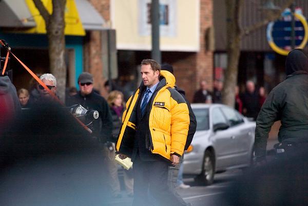 Record-Eagle/Jan-Michael Stump<br /> Actor Josh Lucas waits to film a scene.