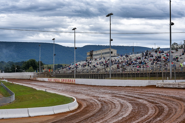 With a bleak forecast and chilly temperatures, fans and cars still made the pilgrimage to the Juniata County Fairgrounds in hopes of seeing the Tuscarora 50.