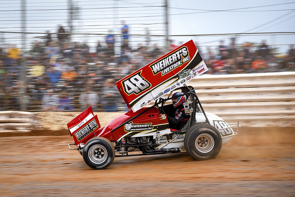 'Double D' Danny Dietrich on the hammer.