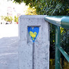 Record-Eagle/Vanessa McCray<br /> The familiar heart shape appears on the North Union Street Bridge.