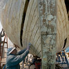 Welcome Changes : The 55-foot Welcome, a replica of an original built in 1774, is having work done on its electrical systems, engines and hull following a Coast Guard inspection.