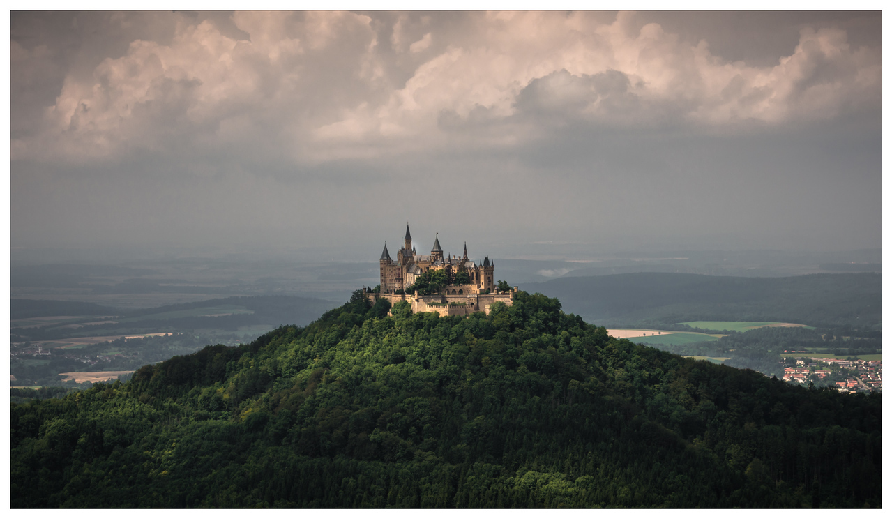 Scenic view of Hohenzollern Castle in Germany.