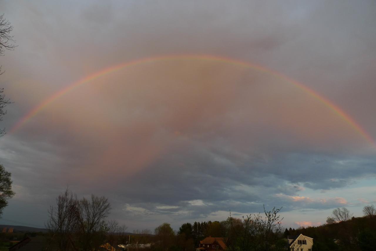 Stunning rainbow