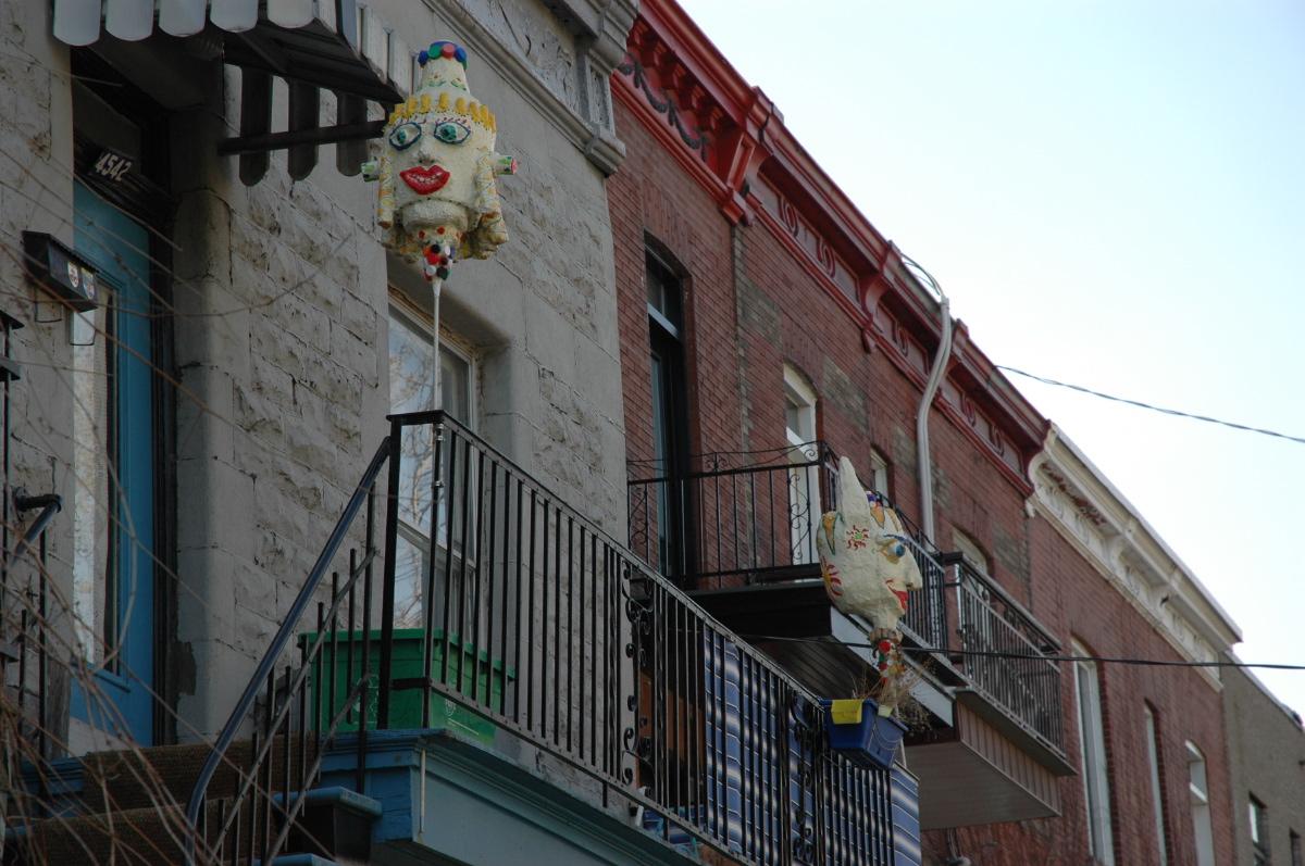 Balcony art