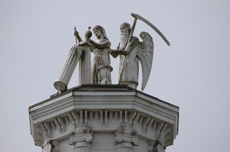 Mendocino steeple sculpture