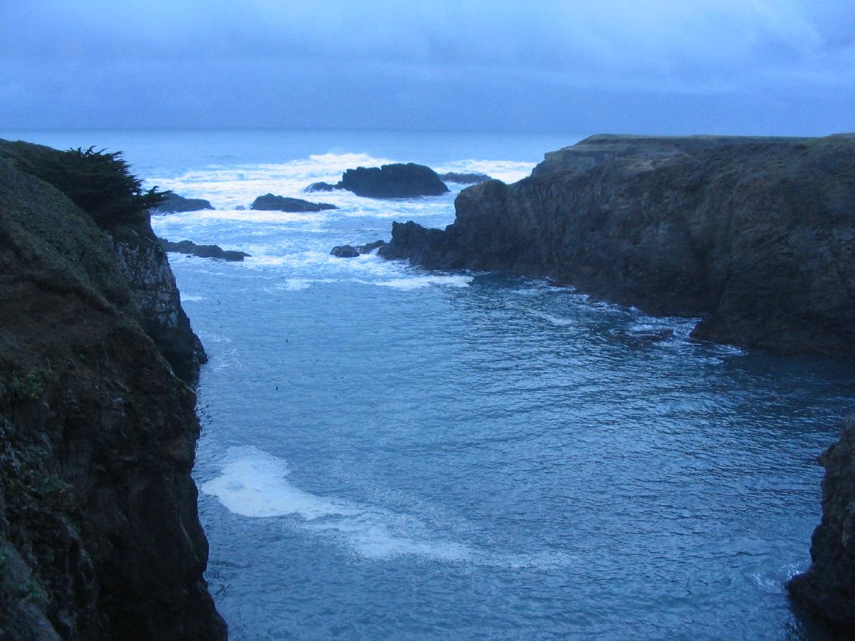 Mendocino Headlands at dusk