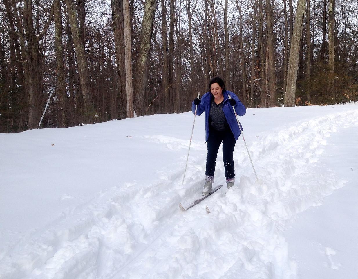 Anna at Mount Tom