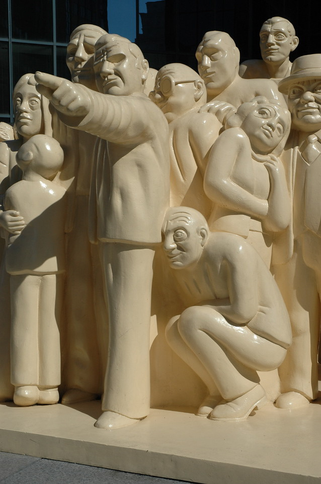 Montreal sculpture