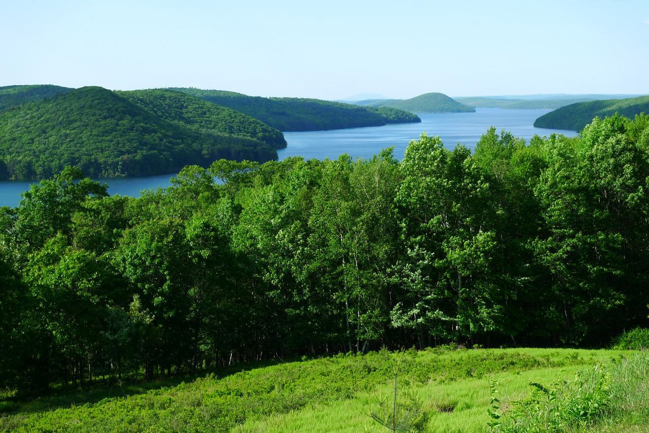 Quabbin from Enfield Look-Out