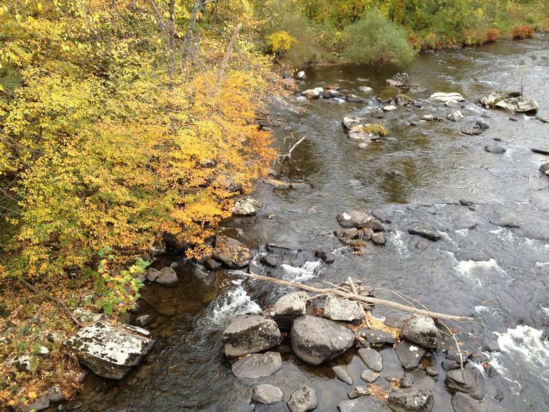 Westfield River in Huntington
