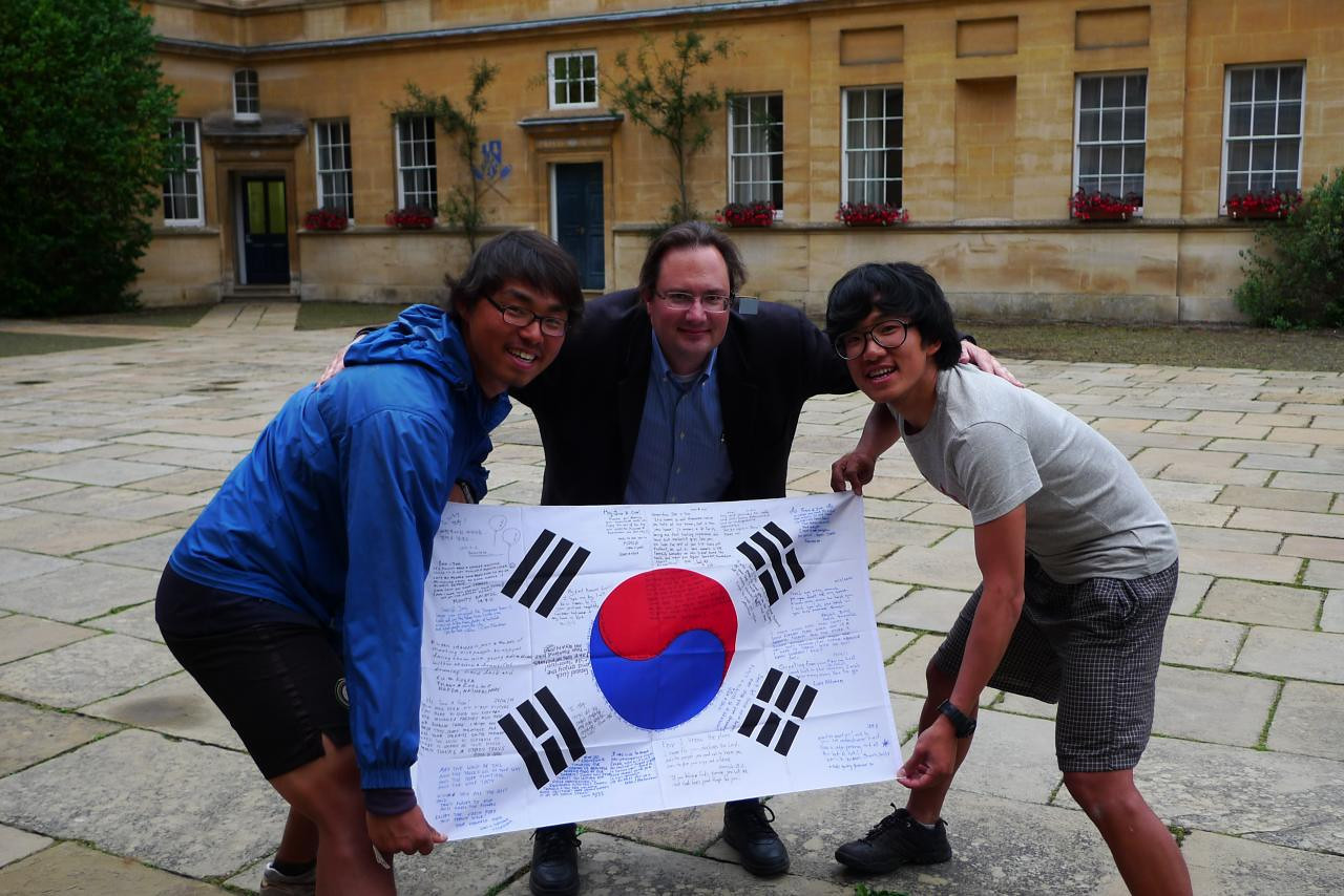 Yeonjoo and Soohyeong in Oxford