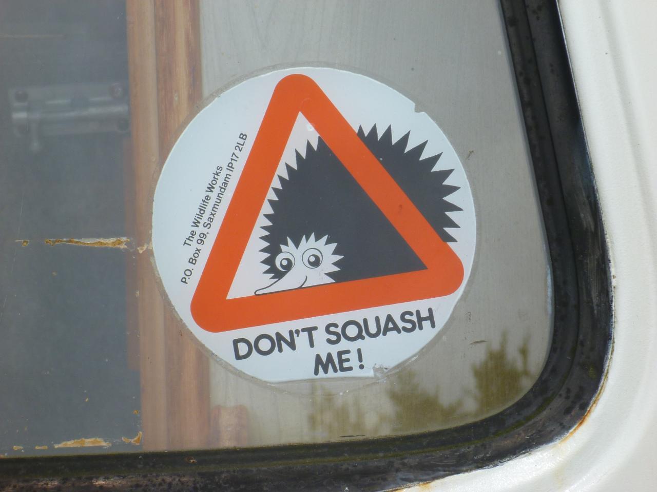 Don't squash me!
