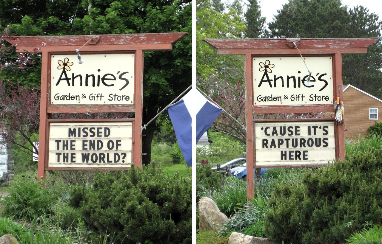 Annie's Rapture (front and back)