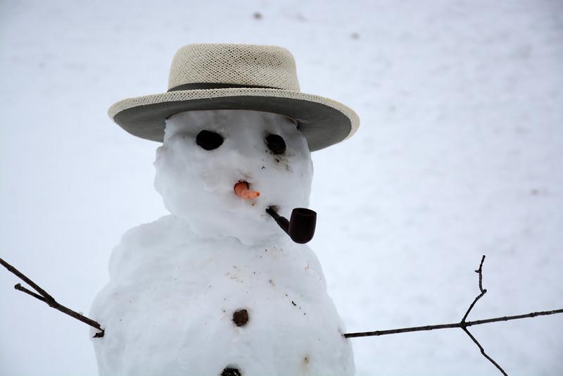 Lynn's snowman