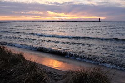 Sunset, Grand Haven
