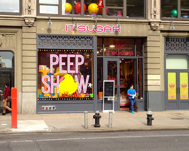 A different kind of peep show