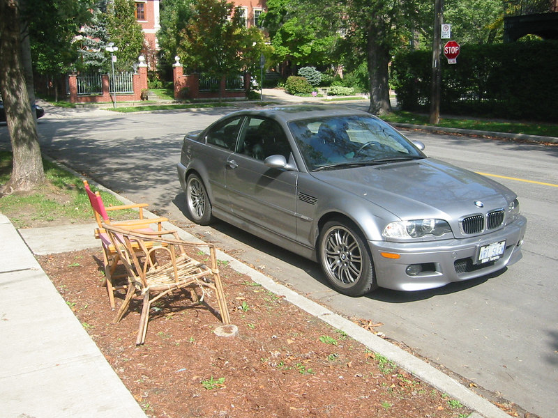 Chairs and BMW
